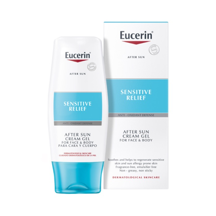 Eucerin After sun gel cream lotion 150ml
