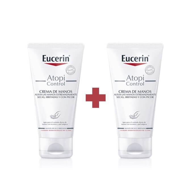 Eucerin Atopicontrol Crema Manos Duplo 75ml+75ml