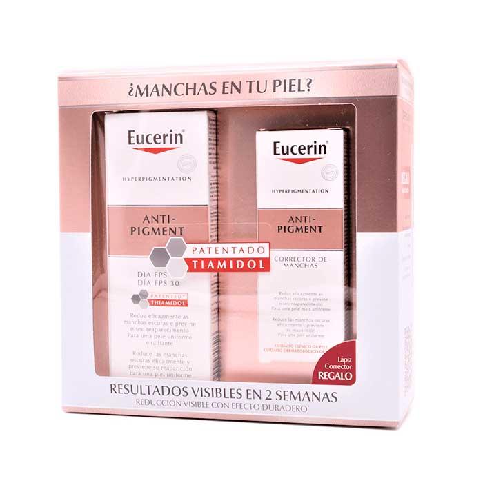 Eucerin Pack Anti-pigment Crema Dia 50ml + Corrector de Manchas 5ml