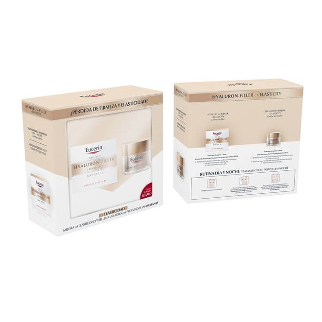 Eucerin Pack Hyaluron Filler Elasticity 50ml + Crema Noche 20ml