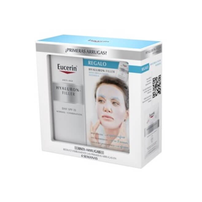 Eucerin Pack Hyaluron Filler Piel Normal/mixta 50ml + Mascarilla Facial Intensiva