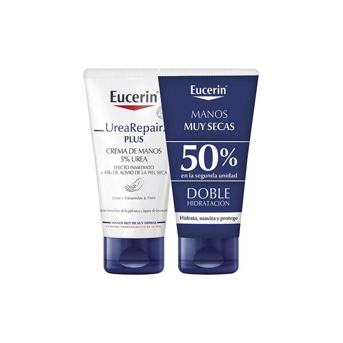 Eucerin Repair Crema Manos Duplo 2x75ml