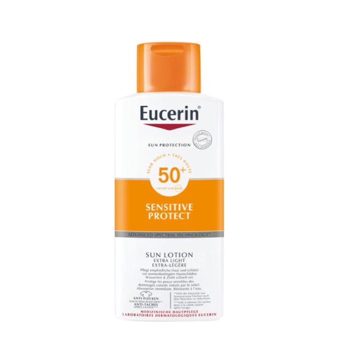 Eucerin Sensitive Protect Sun Lotion Extra Light Spf50 400ml