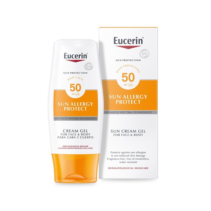 Eucerin sun allergy protect cream gel spf50 150ml