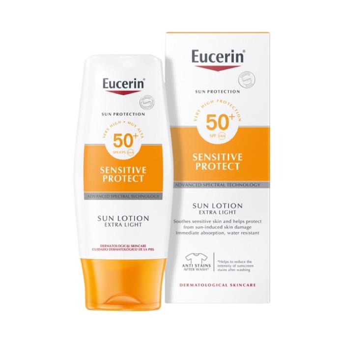 Eucerin Sensitive Protect Sun Lotion Extra Light Spf50 150ml