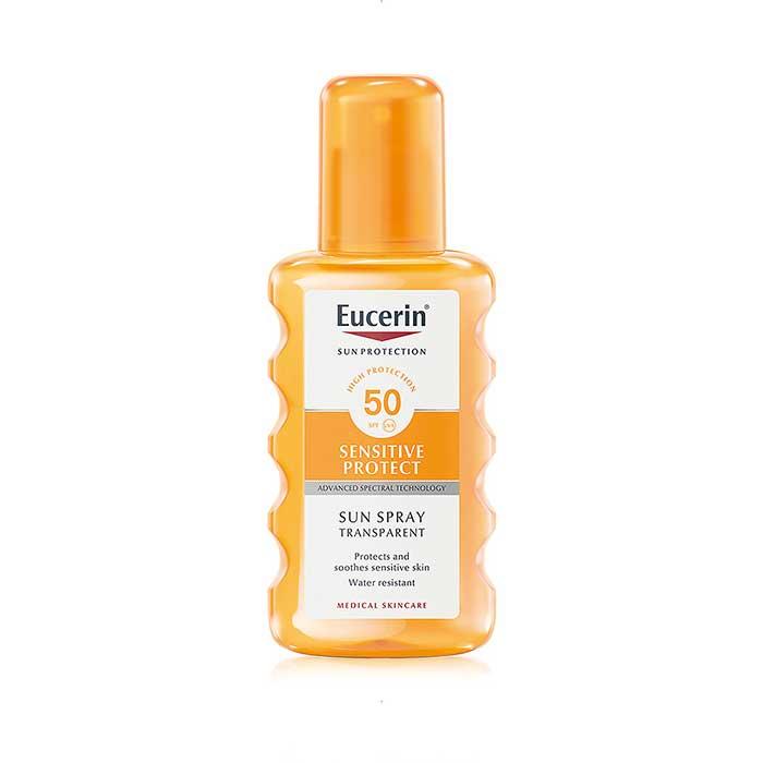 Eucerin Sun Spray Transparente Sensitive Protect Spf50 200ml