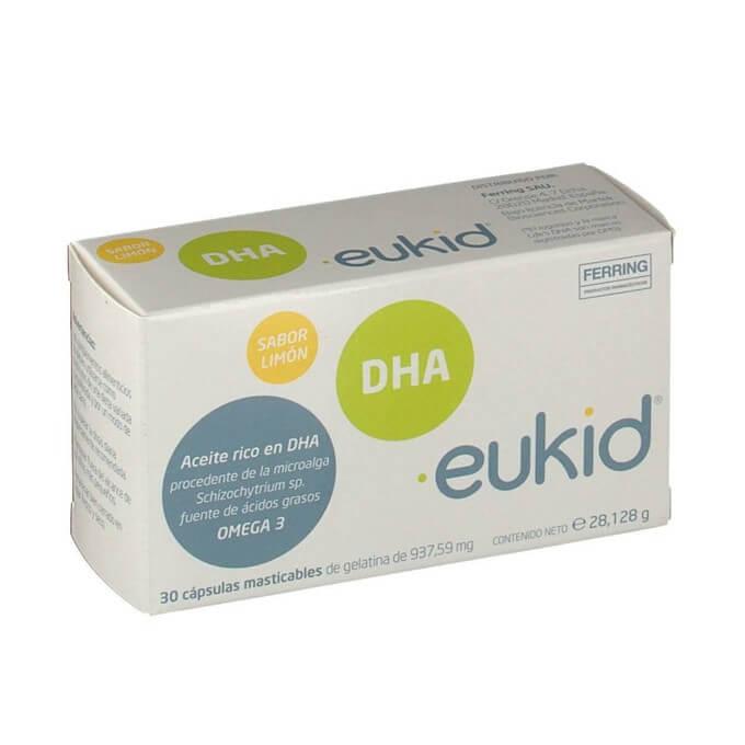 Eukid DHA Omega 3 Sabor Limon 30 Capsulas
