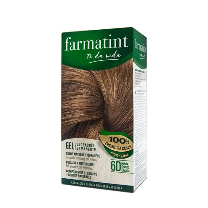 Farmatint 6D Gel Rubio Oscuro Dorado 135 ml