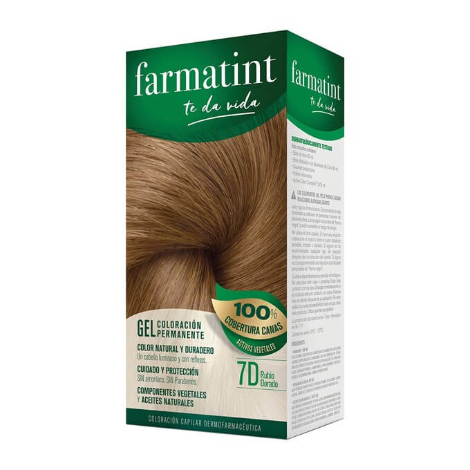 Farmatint 7D Gel Rubio Dorado 135 ml