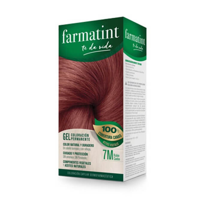 Farmatint 7M Gel Rubio Caoba 135 ml