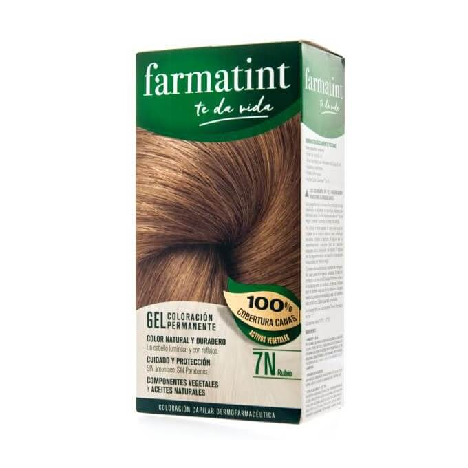 Farmatint 7N Gel Rubio 135 ml