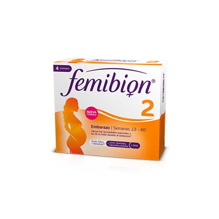 Femibion 2 Embarazo 28 Comprimidos y 28 Capsulas
