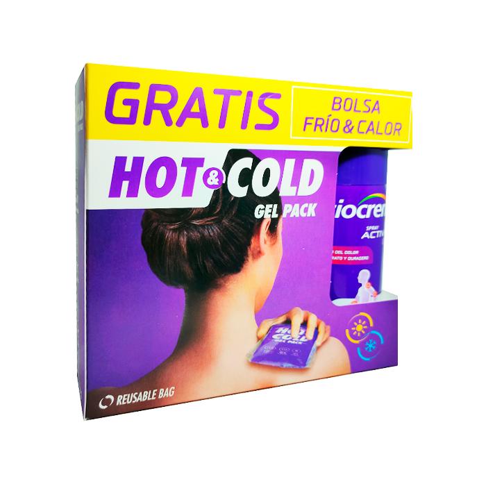 Fisiocrem Spray Active Ice Efecto Frio 150ml + Regalo Bolsa Frio Calor