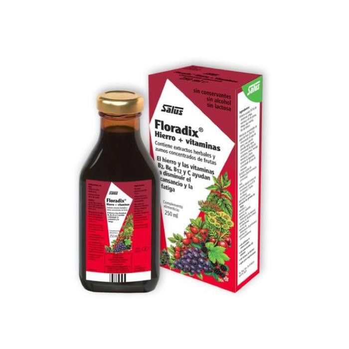 Floradix Hierro + Vitaminas 250 ml