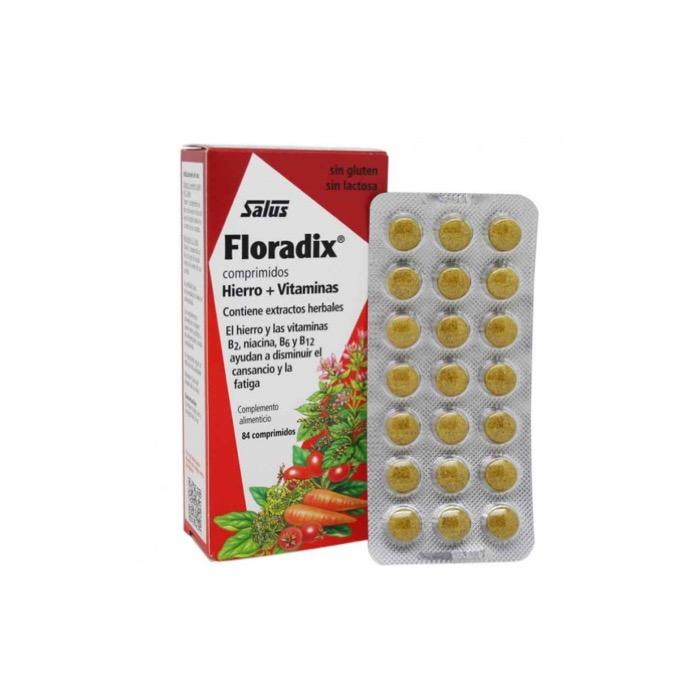 Floradix Hierro + Vitaminas 84 comprimidos