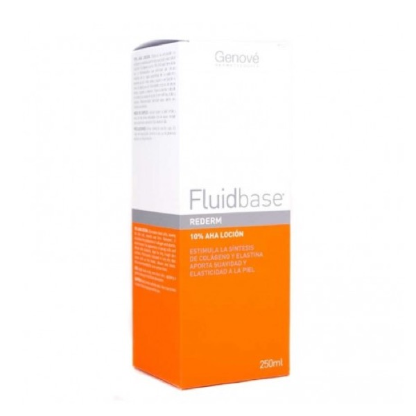 Fluidbase rederm 10% aha lotion 250 ml