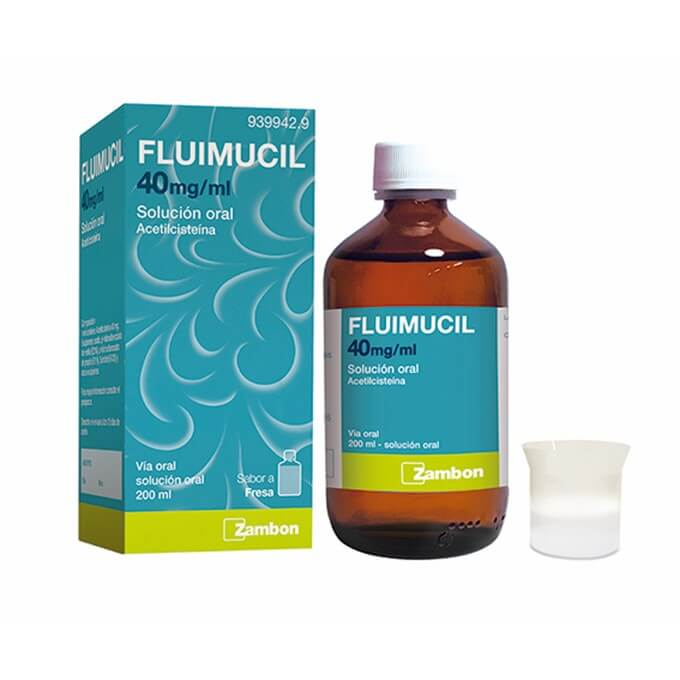 Fluimucil Jarabe 40mg/ml 200 ml