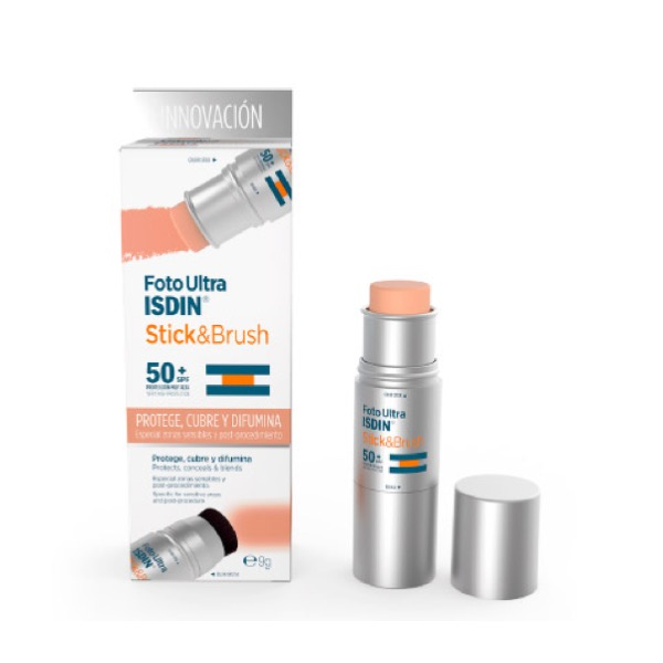 Foto Ultra Isdin Stick & Brush Spf 50+