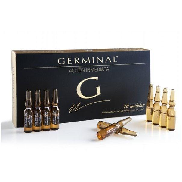 Germinal ampollas accion inmediata 10 u