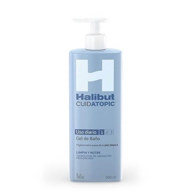Halibut Cuidatopic Gel de Baño Uso Diario 500ml