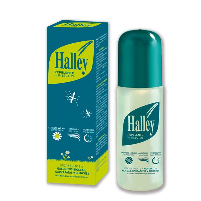 Halley Repelente de Insectos Spray 150ml