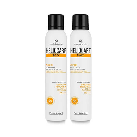 Heliocare 360 Airgel Duplo 200ml+200ml