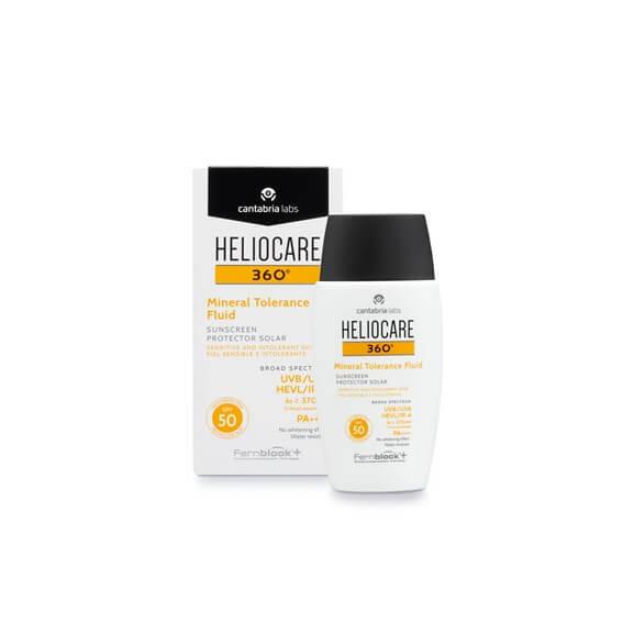 Heliocare 360 Mineral Tolerance Fluido Spf50 50ml