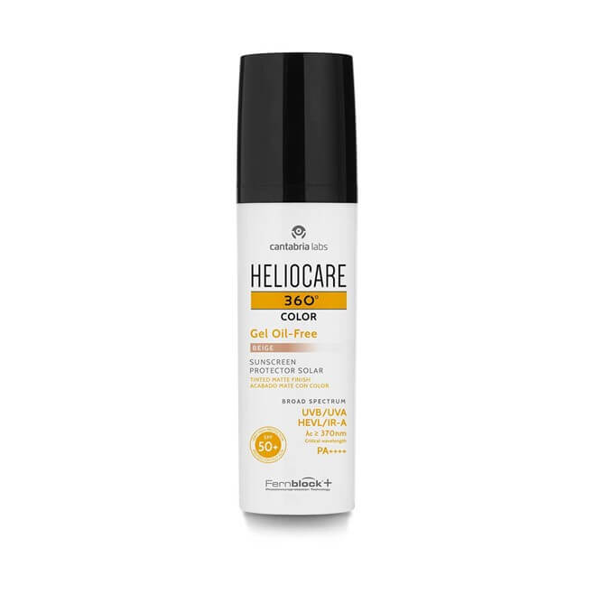Heliocare 360 gel oil free color beige 50 ml