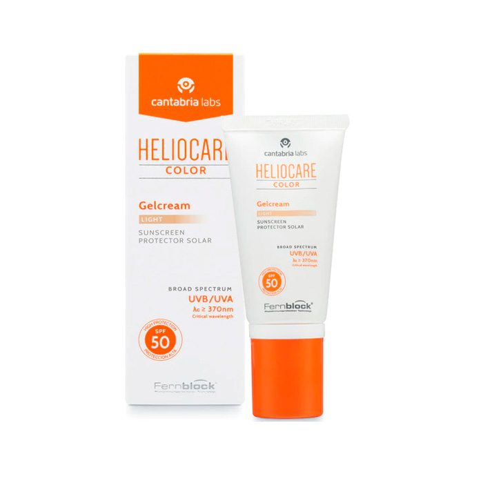 Heliocare Gelcream Color Ligth Spf50 50 ml