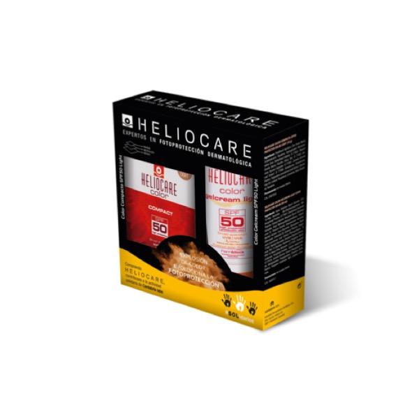 Heliocare Pack gel crema Llight spf 50 + Compacto light oil free spf50