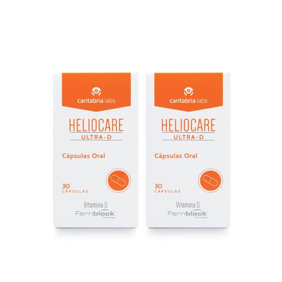 Heliocare Ultra D Pack Duplo 30+30 Capsulas