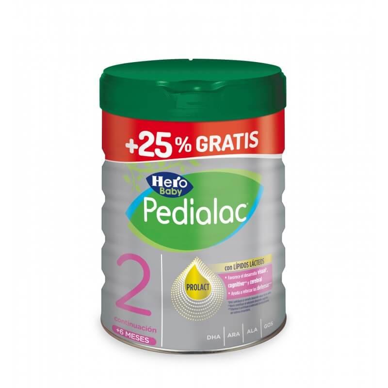 Hero Baby Pedialac 2 800g + 25% Gratis Sin Aceite de Palma