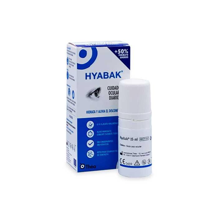 Hyabak Lubricante Ocular 15ml