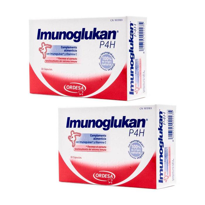Imunoglukan Duplo 30+30 Capsulas
