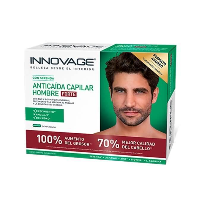 Innovage anticaida capilar hombre forte 60 comprimidos