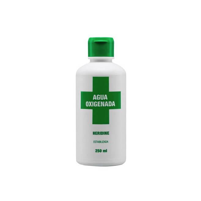 Ia Agua Oxigenada Heridine 250ml