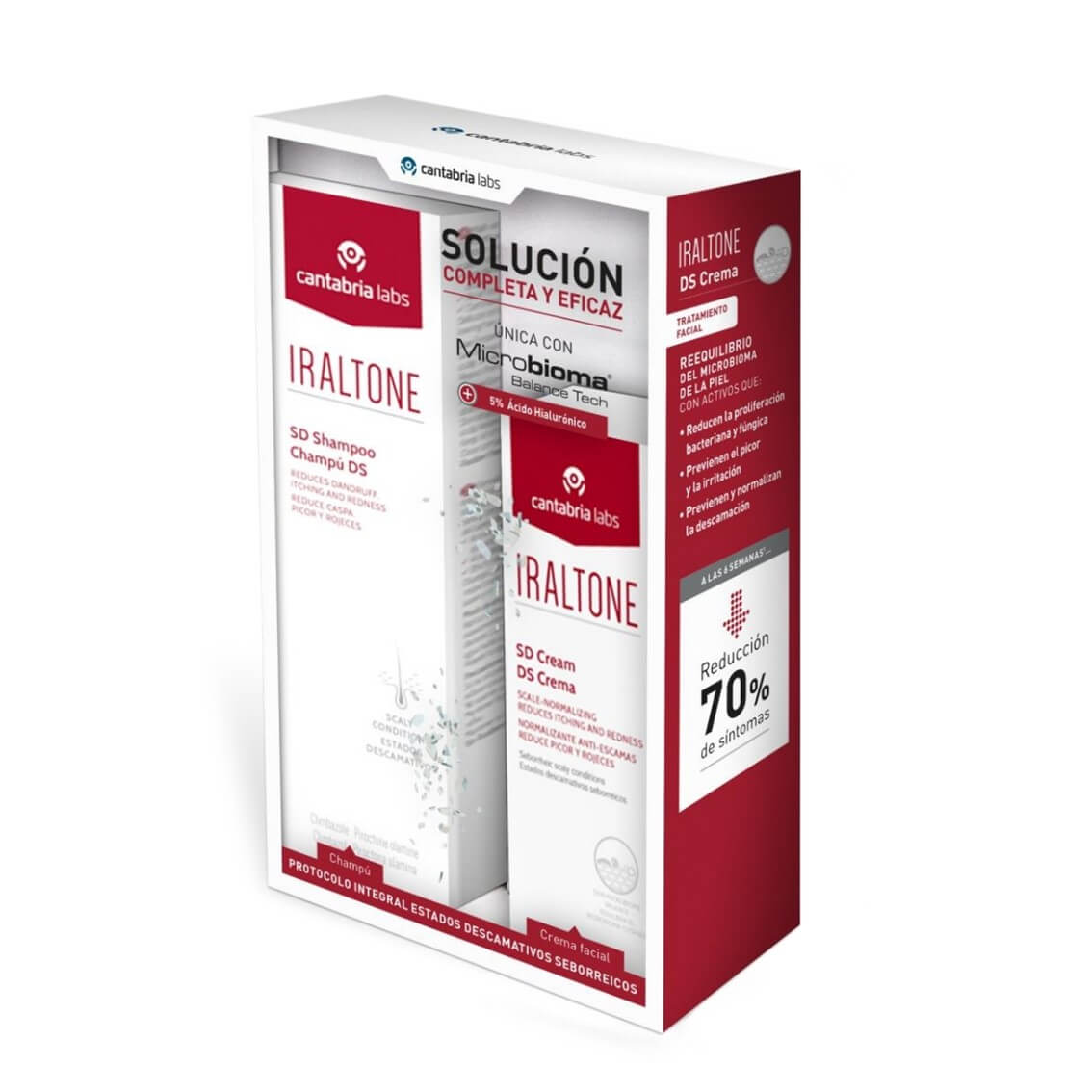 Iraltone Pack Champu DS 200ml + Crema DS 30ml