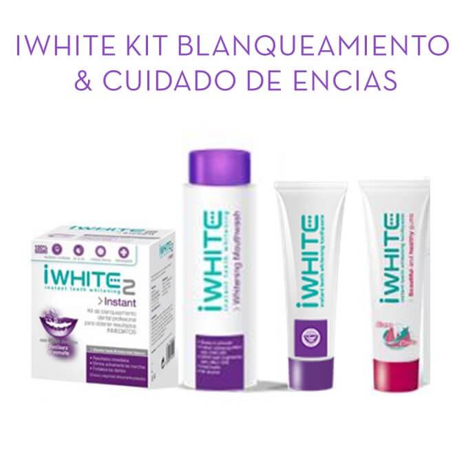 Iwhite 2 Pack Blanqueamiento + Cuidado de encias