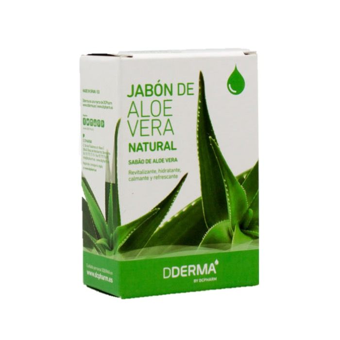 Jabon aloe vera natural 100g