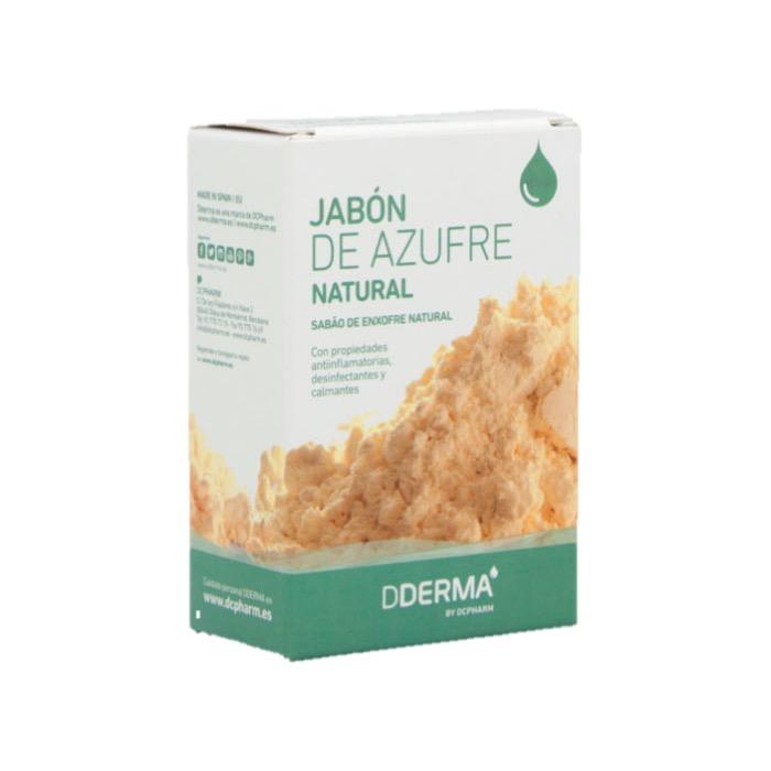 Jabon Natural de Azufre 100g