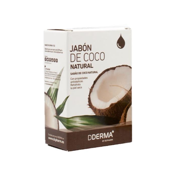 Jabon de coco natural 100g