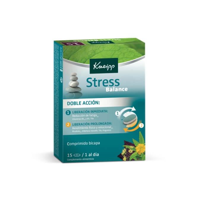 Kneipp Stress Balance Doble Accion 15 Comprimidos Bicapa