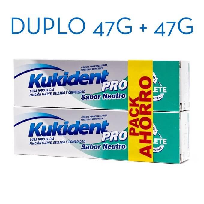 Kukident Pro Sabor Neutro Duplo 47g+47g