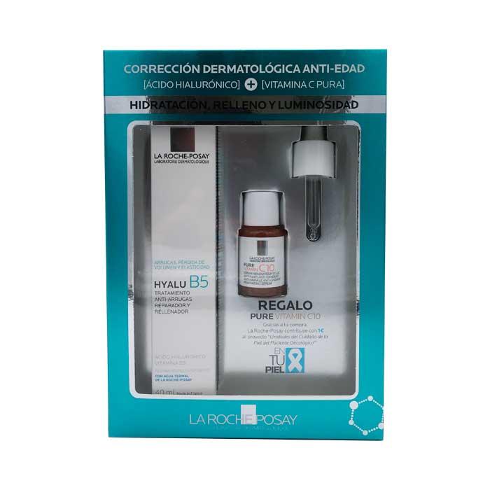 La Roche Posay Hyalu B5 Crema Tratamiento Anti-arrugas 40ml + Regalo Pure Vitamin C10 10ml
