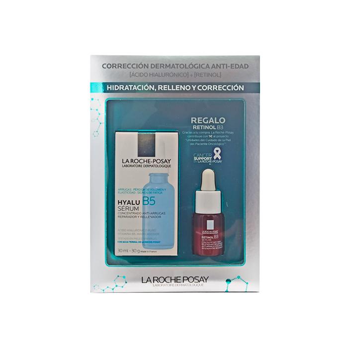 La Roche Posay Hyalu B5 Serum Reparador Antiarrugas 30ml + Regalo Retinol B3 Serum 10ml
