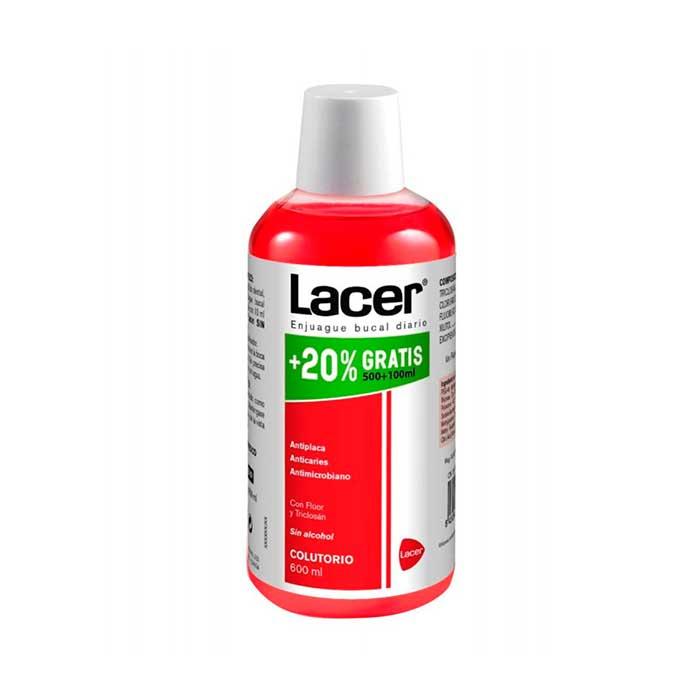 Lacer Colutorio Sin Alcohol 600ml
