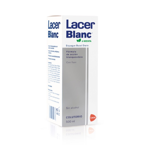Lacer Blanc Colutorio Blanqueador Menta 500ml