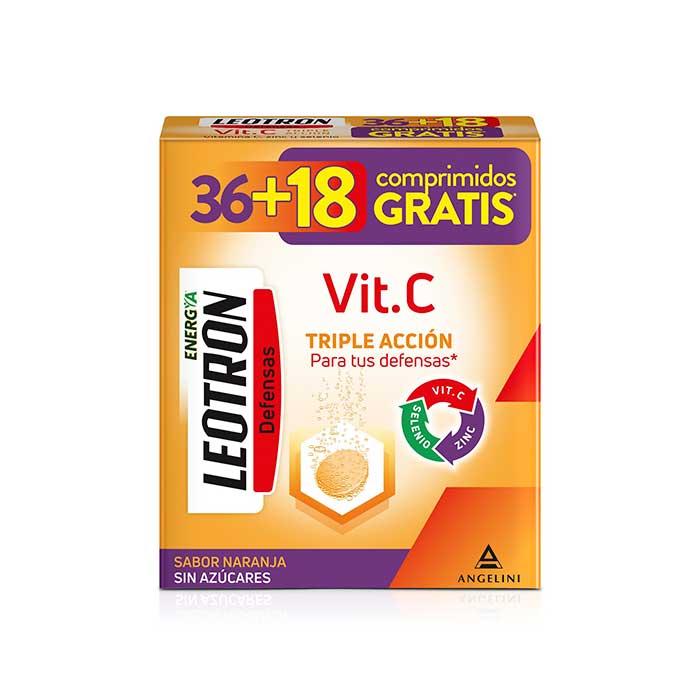 Leotron Vitamina C 36 + 18 Comprimidos