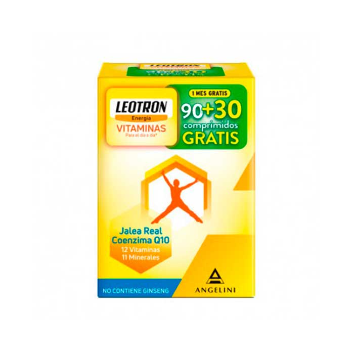 Leotron Vitaminas 90 + 30 Comprimidos Q10