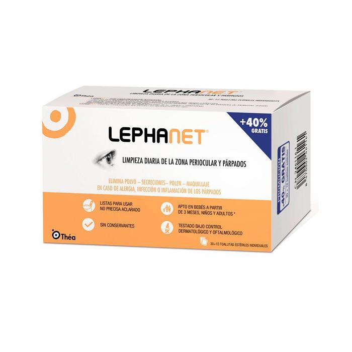 Lephanet 30+12 Toallitas